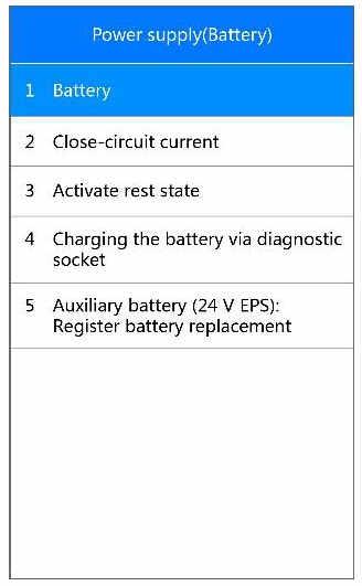 Autel MD808 Pro Manage BMW Battery System (1)