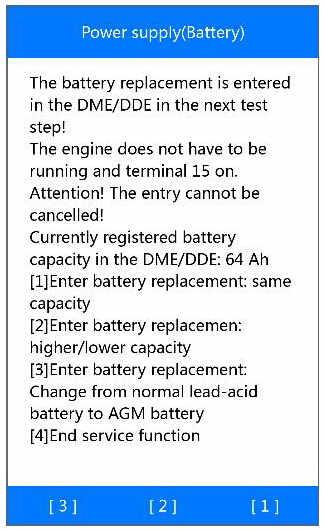 Autel MD808 Pro Manage BMW Battery System (11)