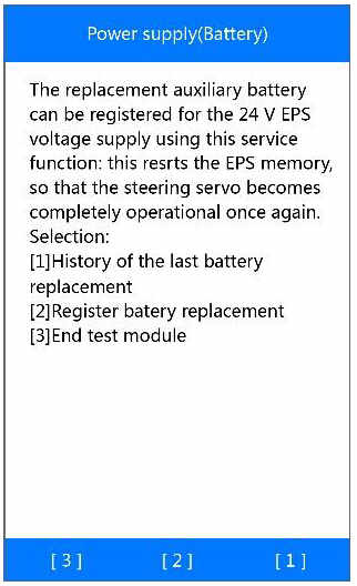 Autel MD808 Pro Manage BMW Battery System (19)