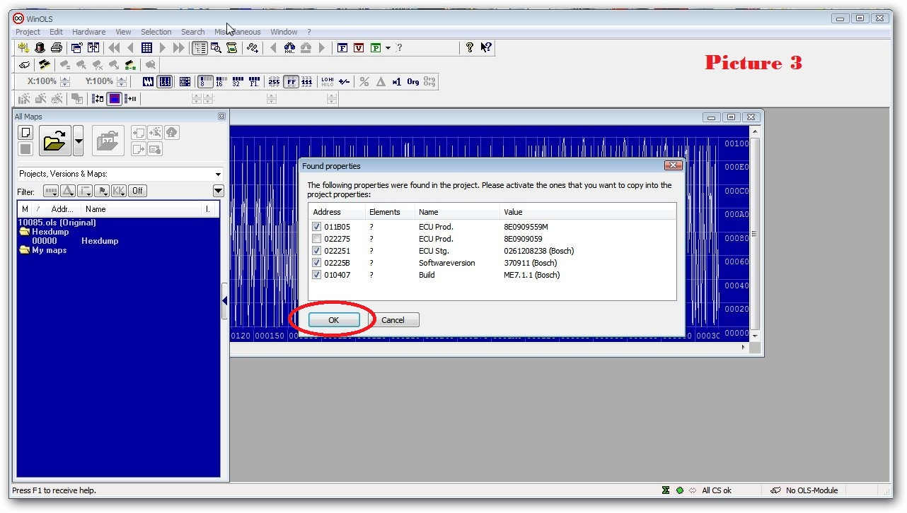 How to Make Checksums for ECU Files with WinOLS (5)