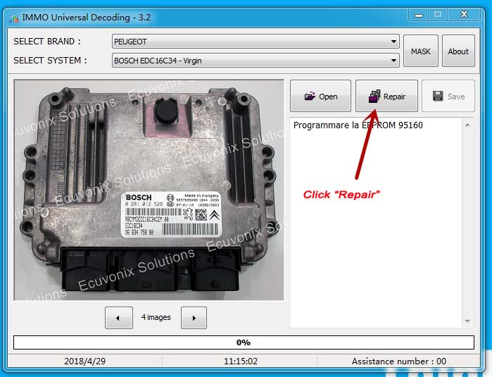 How to Use IMMO Universal Decode (2)