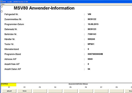 Know BMW DME MEVD Updated by BMW INPA (7)
