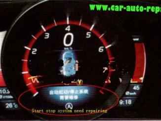 Volvo V40 Start-Stop Not Working & Need Repairing1
