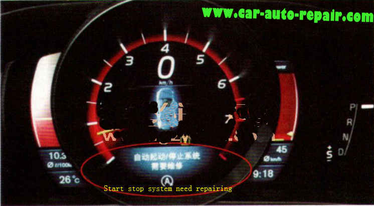 Volvo V40 Start-Stop Not Working & Need Repairing1