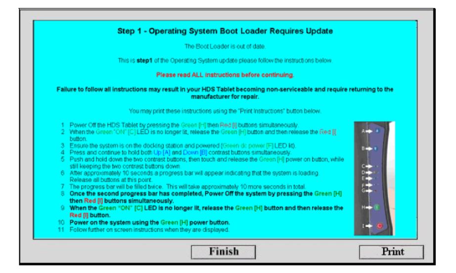 GDS2200 CE Operating System Update Procedure (2)