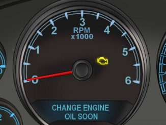 "BMW Mini ""CHANGE ENGINE OIL SOON"""