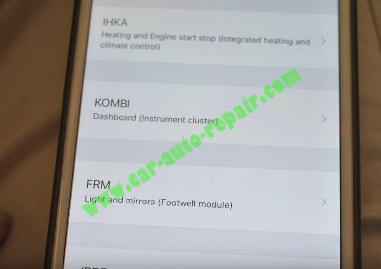 Carly BMW Coding BMW Folding Mirrors for BMW E90 (9)
