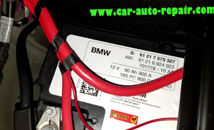 Carly BMW Register Battery for BMW F10 535i 2011 (1)