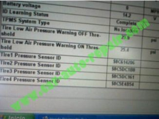 Honda Civic TPMS Sensor ID Memorizing by Honda HIM HDS (5)