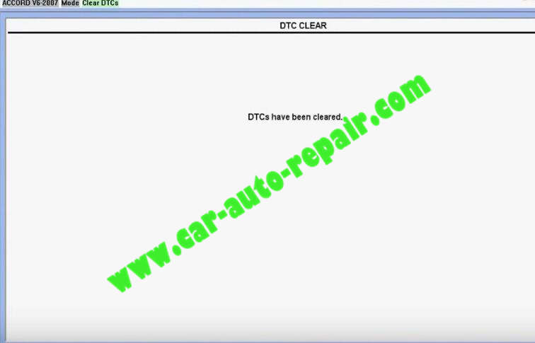Honda HDS HIM Diagnostic TestingRead and Clear DTCs (14)