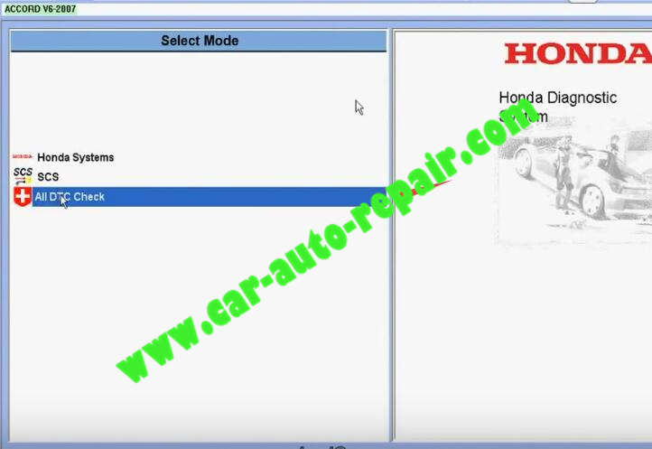 Honda HDS HIM Diagnostic TestingRead and Clear DTCs (2)