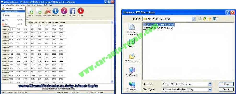 USBasp programmer Repair an XPROG-M Programmer (10)