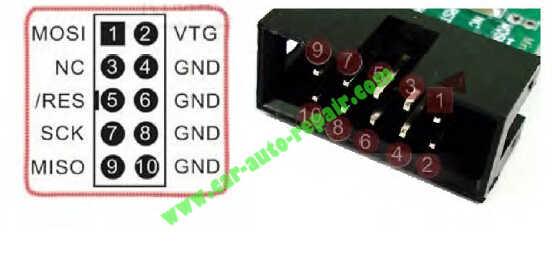 USBasp programmer Repair an XPROG-M Programmer (2)