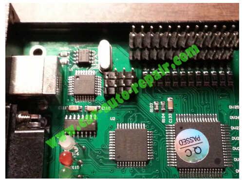 USBasp programmer Repair an XPROG-M Programmer (3)