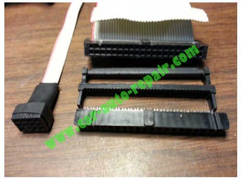 USBasp programmer Repair an XPROG-M Programmer (5)