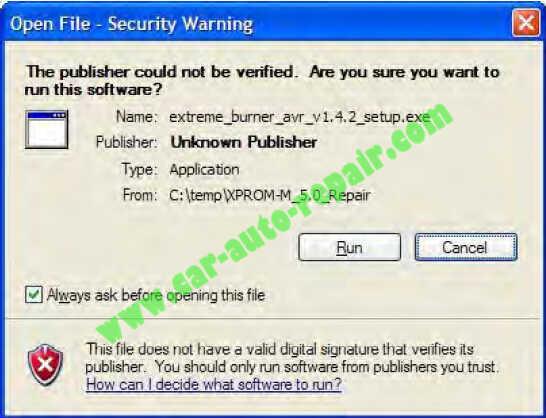 USBasp programmer Repair an XPROG-M Programmer (7)