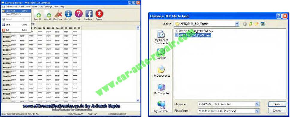USBasp programmer Repair an XPROG-M Programmer (9)