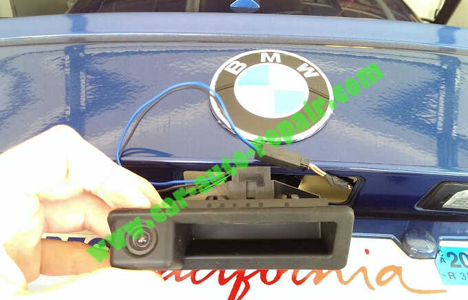 BMW RetrofitInstall & Coding BMW OEM Backup Camera (3)
