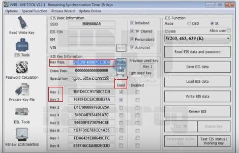 Benz W203 All Keys Lost Programming via VVDI MB Tool (3)