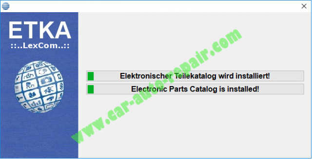 ETKA 8 Free Download Install on Win 788.110 (8)