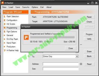 How to Reflash CARPROG MCU AT91SAM7S256 (15)