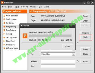How to Reflash CARPROG MCU AT91SAM7S256 Step by Step |Auto