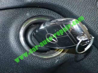 How to Remove & Replace Benz ESL ELV Electronic Steering Lock (1)