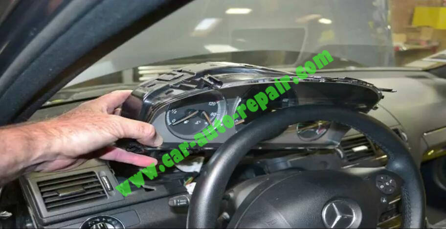How to Remove & Replace Benz ESL ELV Electronic Steering Lock (3)
