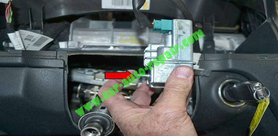 How to Remove & Replace Benz ESL ELV Electronic Steering Lock (9)