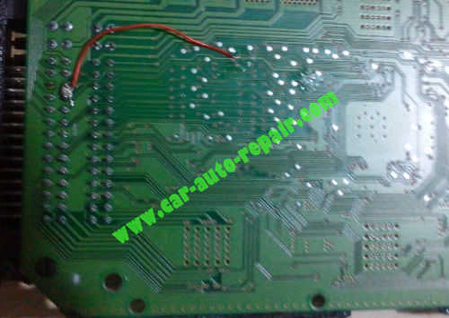 Bosch M7 ECU Damaged by Coolant Temperature Sensor Trouble (3)