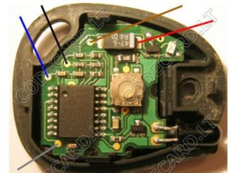 Carprog Program Infrared Key for Renault MeganeScenic (4)