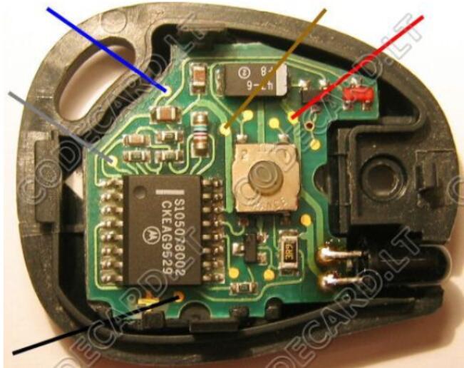 Carprog Program Infrared Key for Renault MeganeScenic (5)