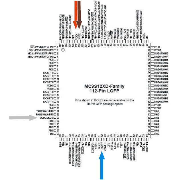 Carprog to Read Motorola MC68HC912xx & 9S12 (15)