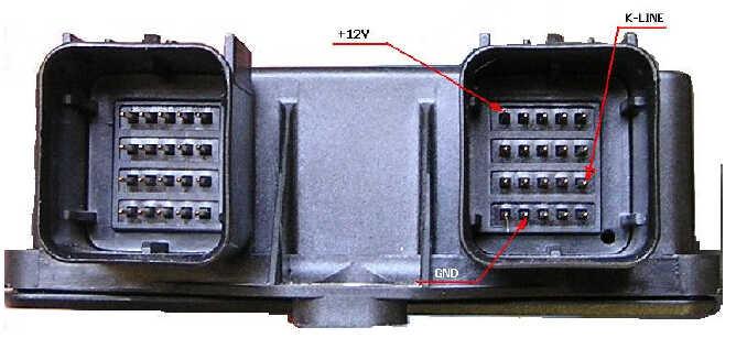 Ford SiemensBosch Airbag Modules Carprog Wire Connection (1)