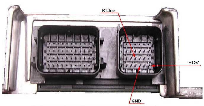 Ford SiemensBosch Airbag Modules Carprog Wire Connection (2)