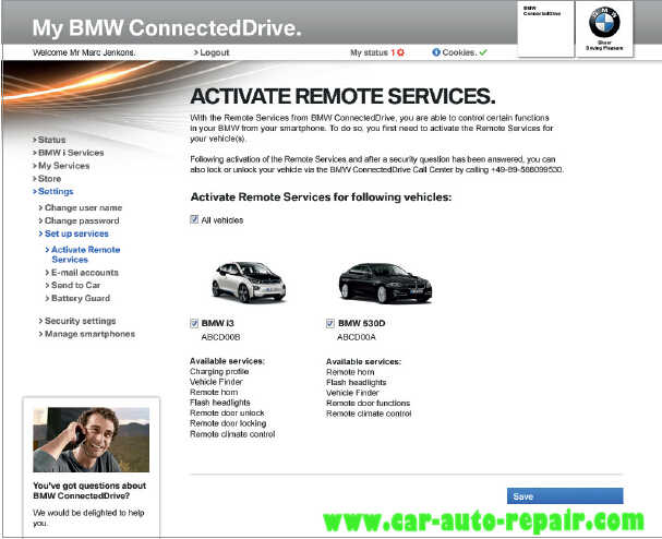 How to Register and Use BMW ConnectedDrive?  Auto Repair