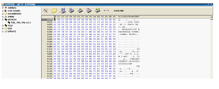 How to Use Carprog to Read EEPROM (5)