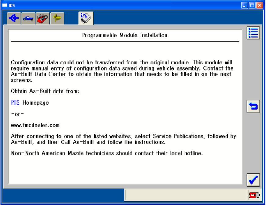 Mazda IDS Modules Programming Guide (12)