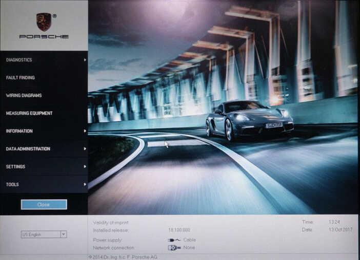 Porsche PIWIS II 2 Perform a Forced PDK Update for Porsche (1)