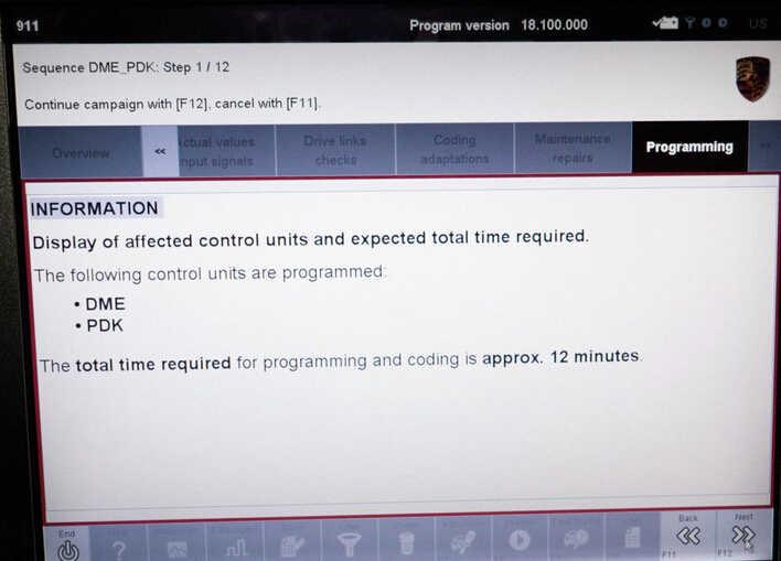 Porsche PIWIS II 2 Perform a Forced PDK Update for Porsche (11)