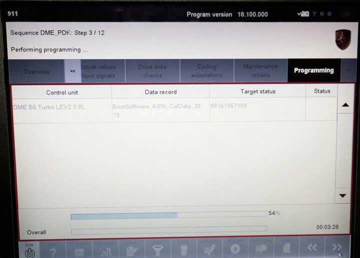 Porsche PIWIS II 2 Perform a Forced PDK Update for Porsche (13)