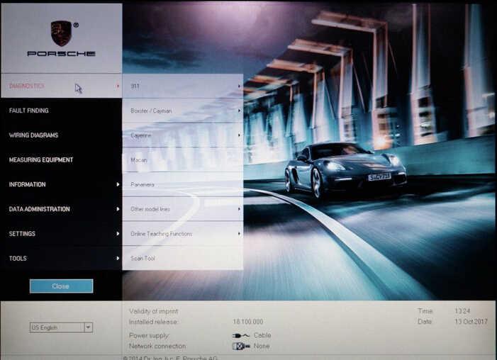 Porsche PIWIS II 2 Perform a Forced PDK Update for Porsche (2)