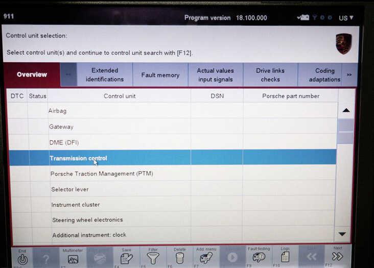 Porsche PIWIS II 2 Perform a Forced PDK Update for Porsche (7)