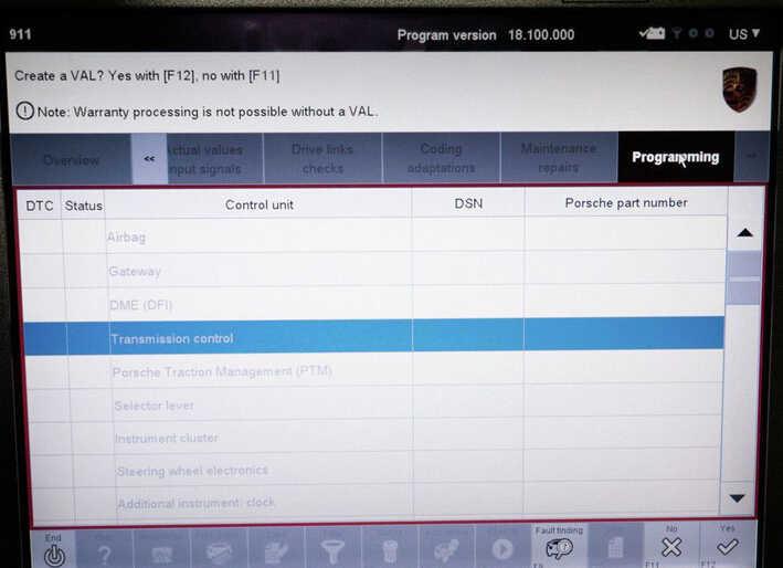 Porsche PIWIS II 2 Perform a Forced PDK Update for Porsche (8)