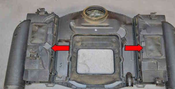 Replace Engine Air Filter for Benz W204 (2)