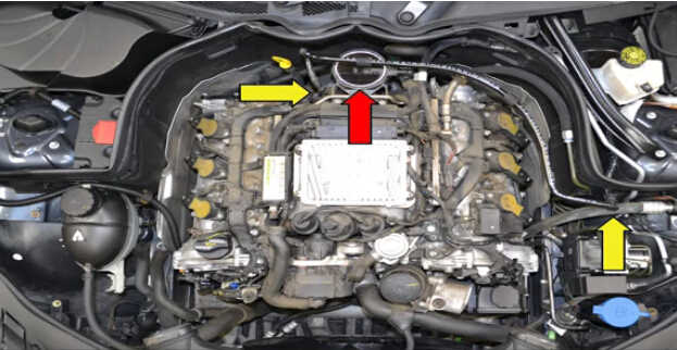 Replace MAF Sensor for Mercedes Benz W204 (2)