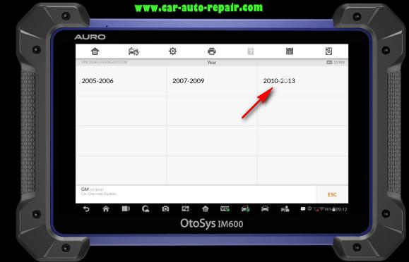 Chevrolet Equinox 2010 Key Programming by Auro IM600 (6)