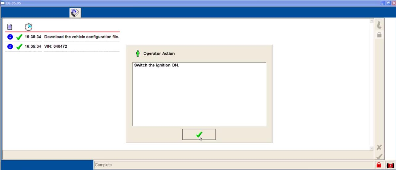 Ford IDS Configure Parameter for Ford Mondeo (22)