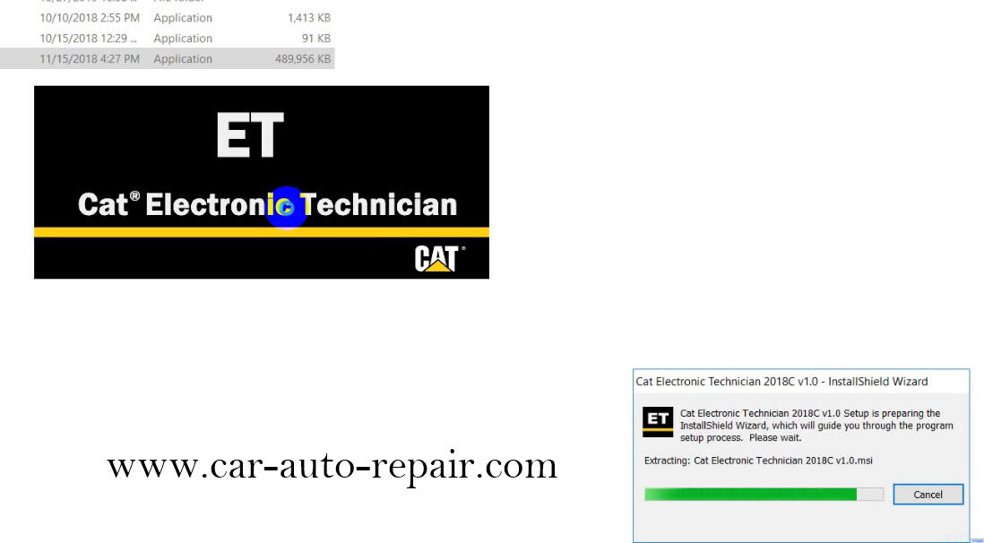 How to Install & Activate Cat Electronic Technician 2018C (3)