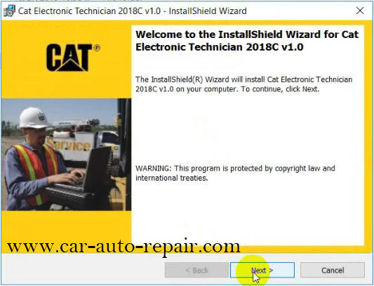 How to Install & Activate Cat Electronic Technician 2018C (4)